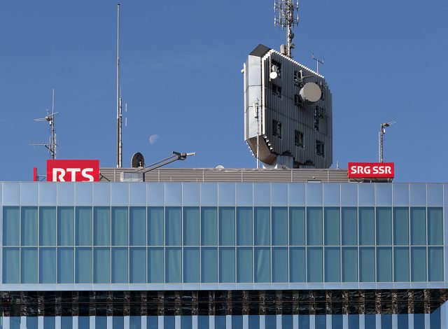 Visite des studios TV avec la SRT Vaud