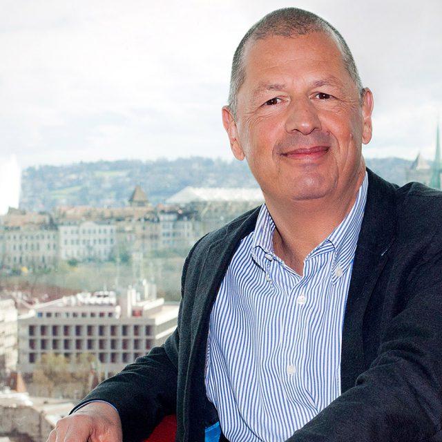 Le directeur de l'Actualité et des Sports de la RTS Pierre-François Chatton prend sa retraite