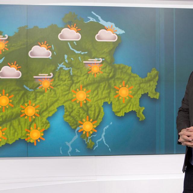Nouveau visage à la RTS: Stéphane Thiébaud rejoint l'équipe météo