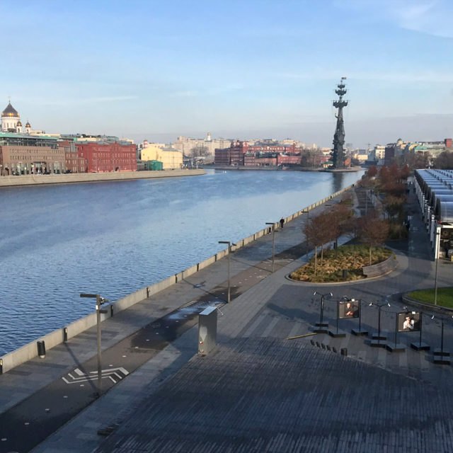 Des Suisses à Moscou