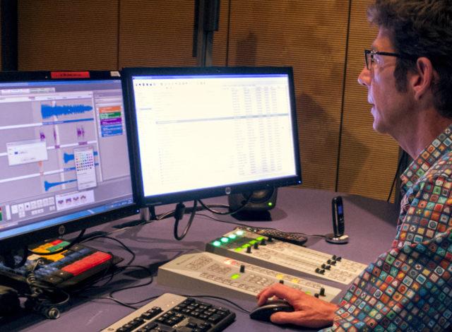 Les métiers de la RTS - Réalisateur radio