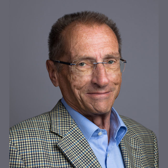 Portrait de Bernard Attinger par Christian Mayor