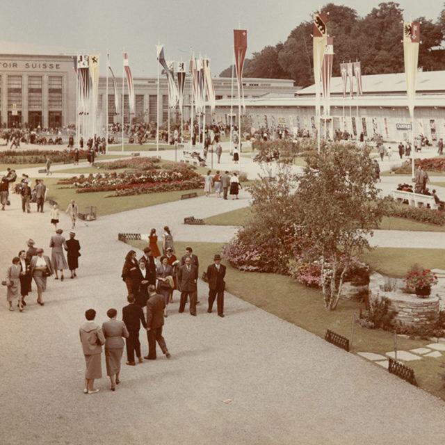 Le Comptoir suisse: un siècle d'histoire en images