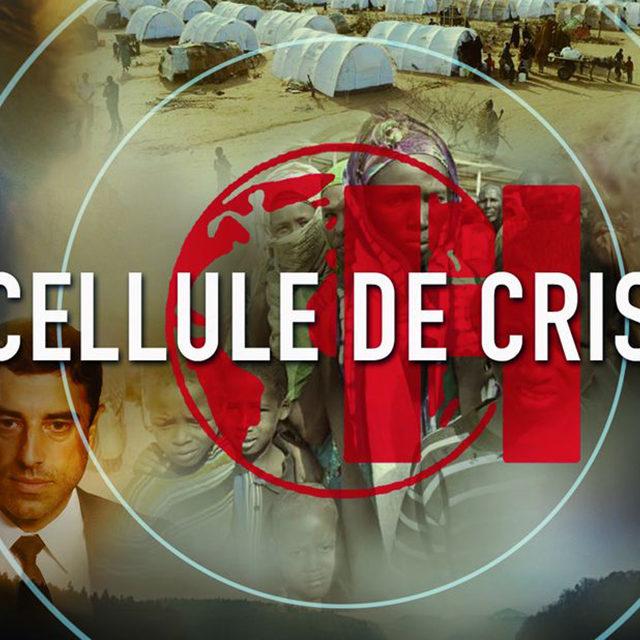 Début de tournage de la série «Cellule de crise» avec Isabelle Caillat et André Dussollier