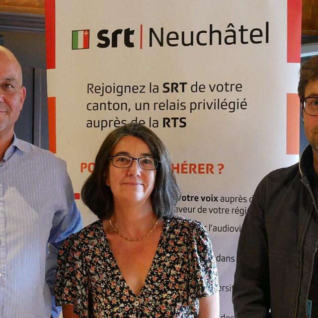 La SRT Neuchâtel au NIFFF et en visite dans les locaux neuchâtelois de la RTS