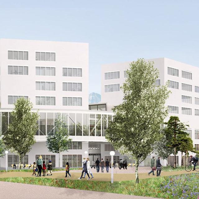 La RTS confirme la construction de son nouveau centre média sur le site de l'EPFL