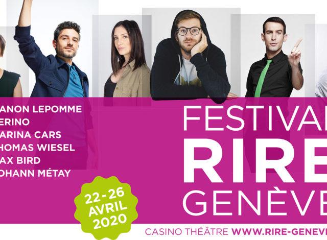 ÉVÉNEMENT ANNULÉ - Festival du rire de Genève
