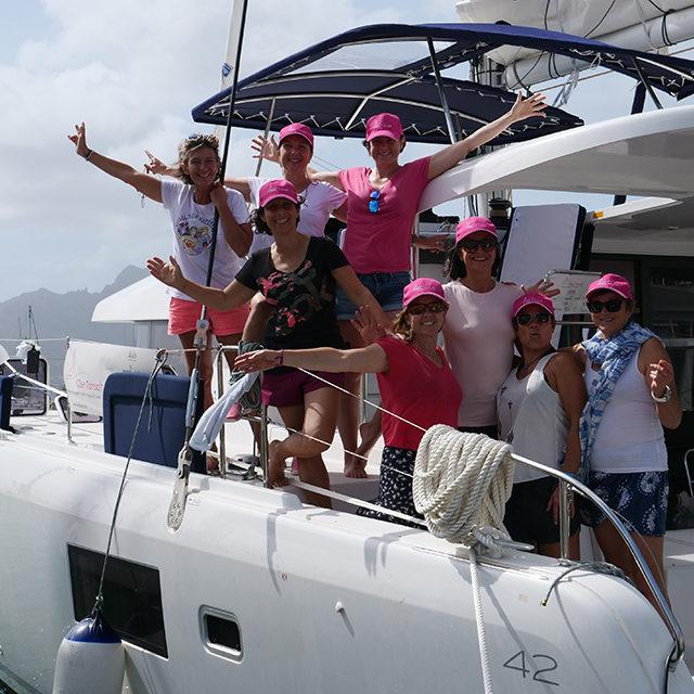 «8 femmes à bord»: traverser le cancer et… l'Atlantique