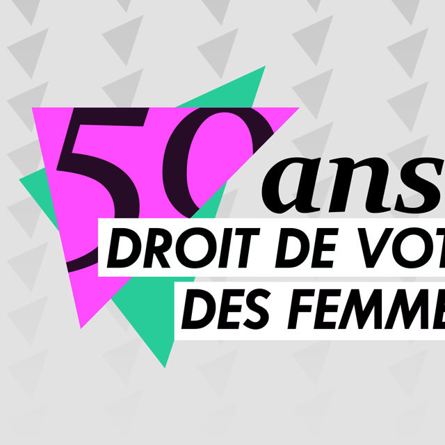 Les programmes de la RTS célèbre les 50 ans du droit de vote des femmes