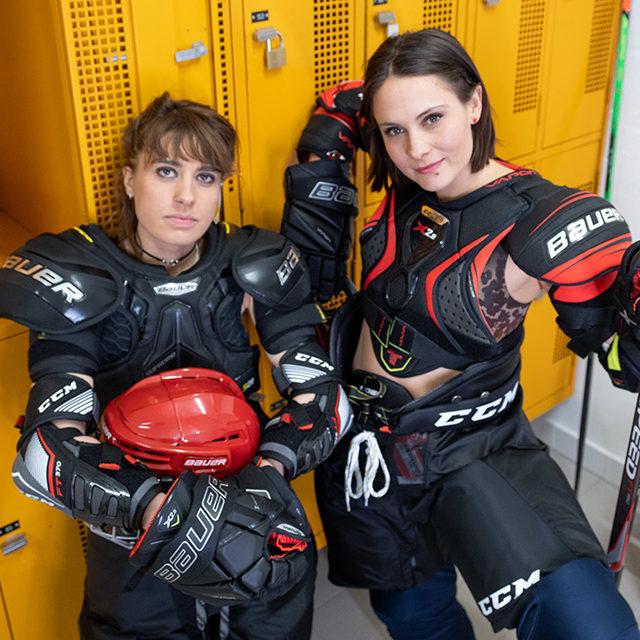 «Hockey Meuf»: nouvelle websérie Couleur 3