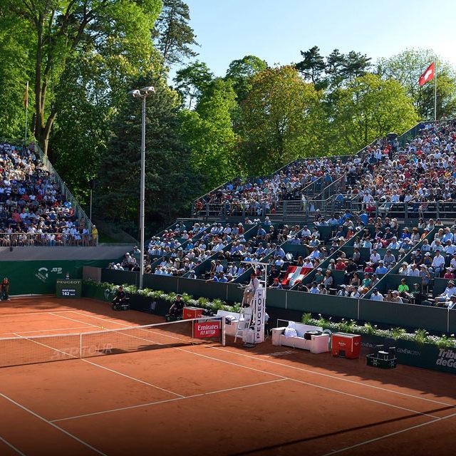 Geneva Open: une première pour Roger Federer et pour la RTS