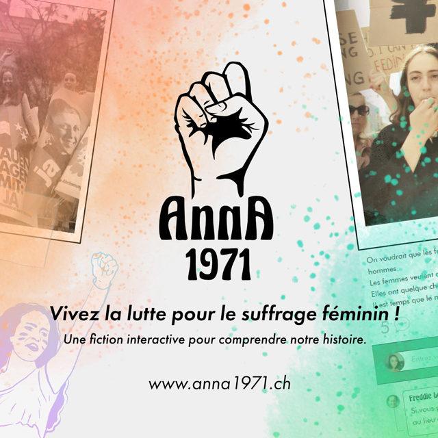 «Anna 1971»: la fiction interactive qui permet de revivre la lutte pour le suffrage féminin en Suisse!