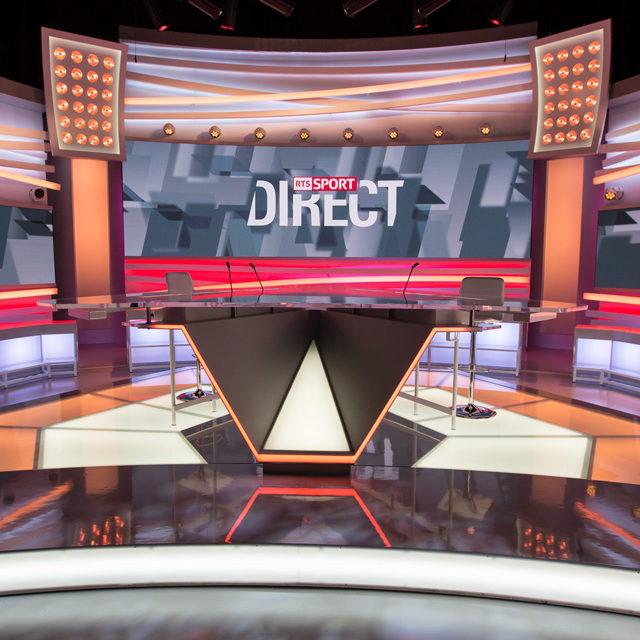 Les coulisses de la RTS en vidéo: les Sports