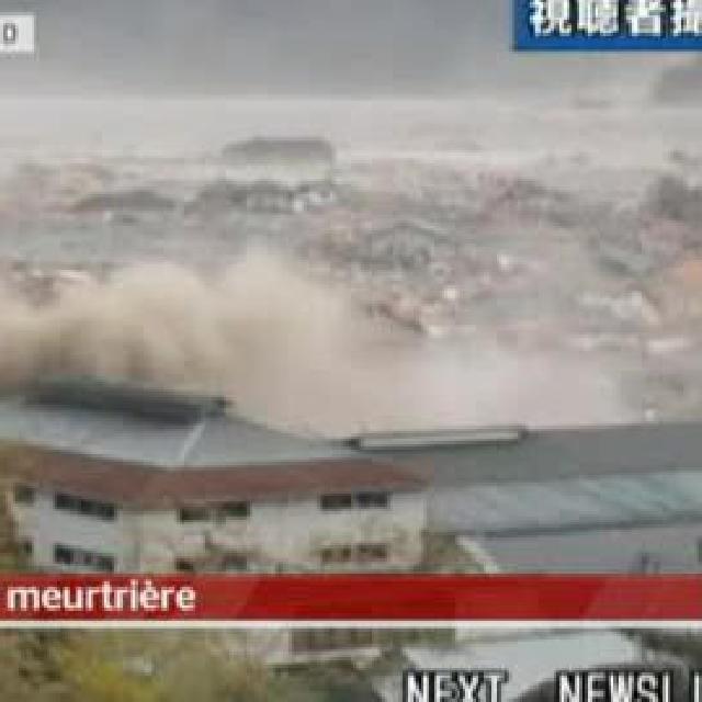 La couverture médiatique par la RTS des événments au Japon