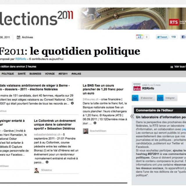 Paperli EF2011, le quotidien politique !