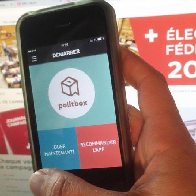 Avez-vous testé vos connaissances sur la Suisse avec l'application-jeu Politbox?